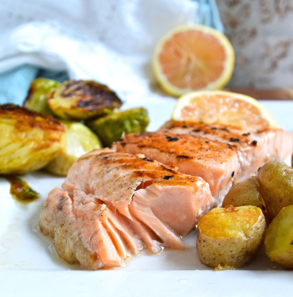 Simple Salmon Dinner • Great Food And Lifestyle